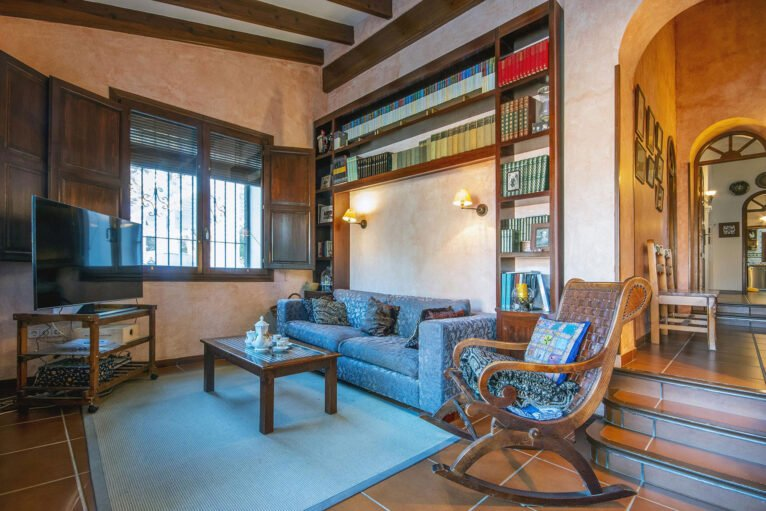 Living room in a large vacation home in Dénia - Aguila Rent a Villa