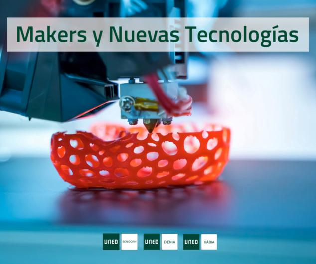 Image: UNED Dénia célèbre le cours d'extension universitaire Makers and New Technologies