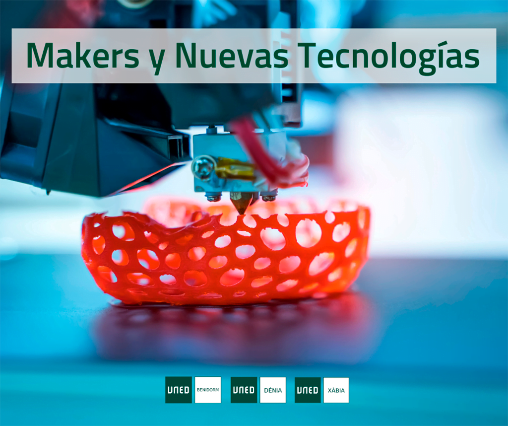 UNED Dénia célèbre le cours d'extension universitaire Makers and New Technologies