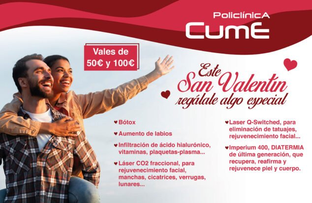 Image: Gift vouchers for Valentine's Day - CUME Polyclinic