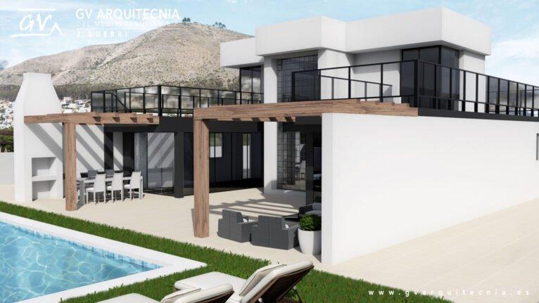 Maison préfabriquée à Pedreguer - GV Arquitecnia