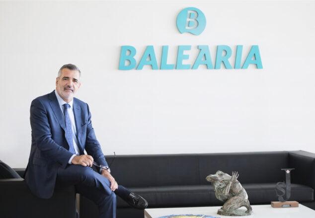 Imagen: Adolfo Utor, presidente de Baleària