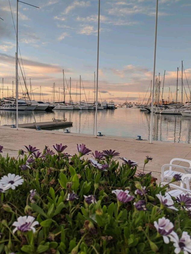 Imagen: Atardecer desde Restaurante Balandros