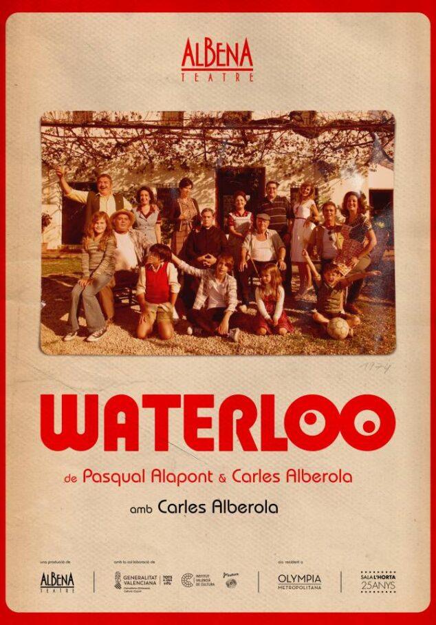 Imagen: Carles Alberola interpreta el monólogo Waterloo de Albena Teatre