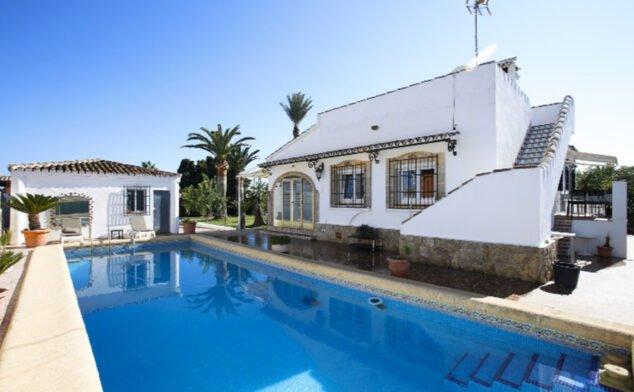 Imagen: Casa de alquiler de vacaciones entre Dénia y Els Poblets - Deniasol