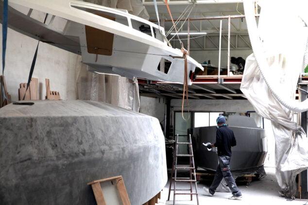 Imagen: Dentro del astillero Sarch