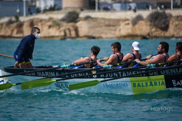 Imagen: Dos platas para el Club de Rem Marina de Dénia en Calp