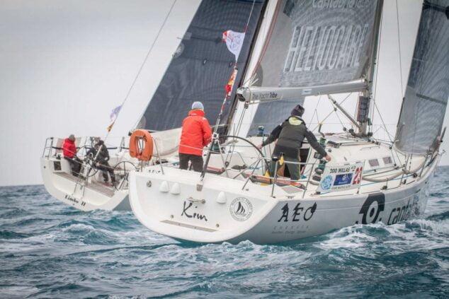 Imagen: El Club de Vela de Marina El Portet de Dénia queda cuarto en las 200 millas A2 de Altea
