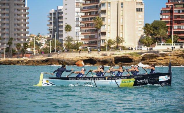 Imagen: Equipo veterano femenino del Club de Rem Marina de Dénia