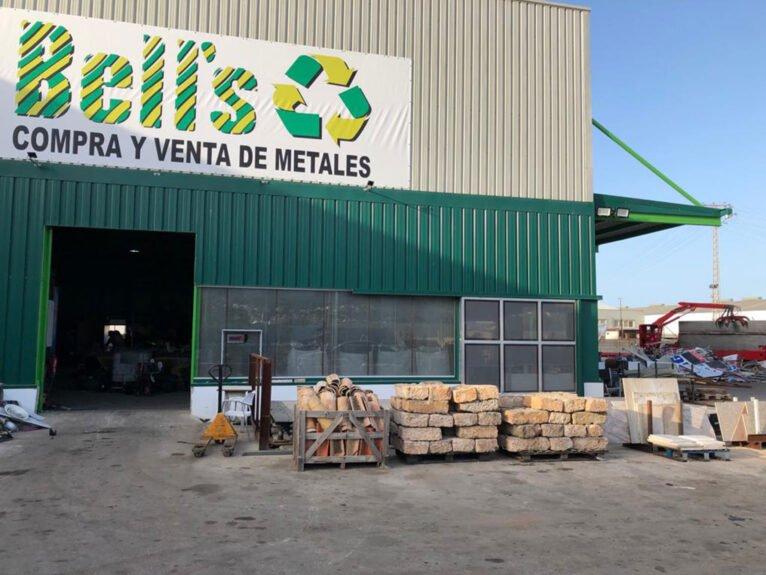 Exterior de Bell's, compra de materiales