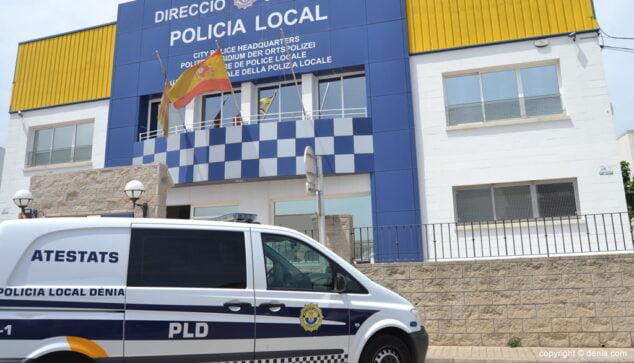 Imagen: Fachada de la comisaría de la Policía Local