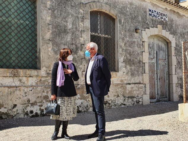 Imagen: La consellera de Calidad Democrática y el alcalde de Dénia han tratado cuestiones en materia de memoria democrática, participación y transparencia