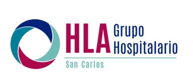 Imagem: logotipo do HLA San Carlos