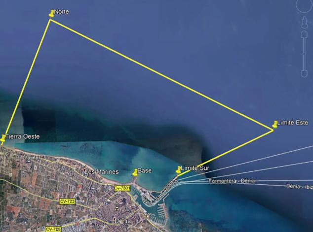 Imagen: Marina El Portet de Dénia será la sede del Campeonato Provincial de Pesca en Kayak