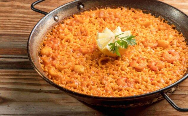Imagen: Paella de pescado - Arrozes