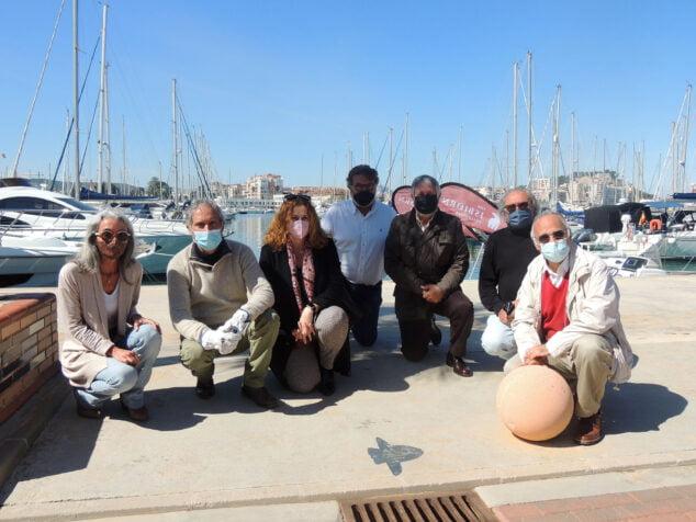 Imagen: Pez Luna en la Marina de Dénia