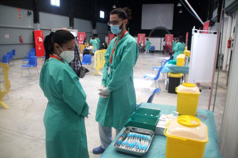 Proceso de vacunación masiva en la Marina Alta 04