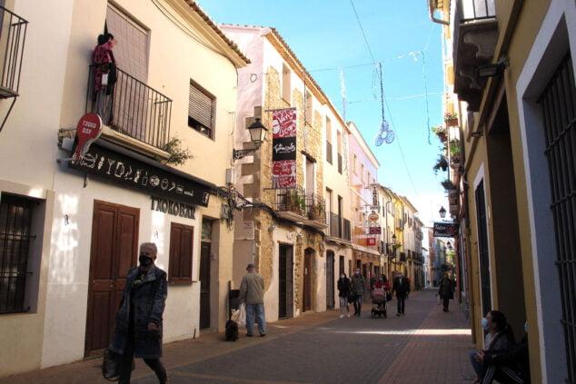 Imagen: Restaurantes cerrados de la calle Loreto