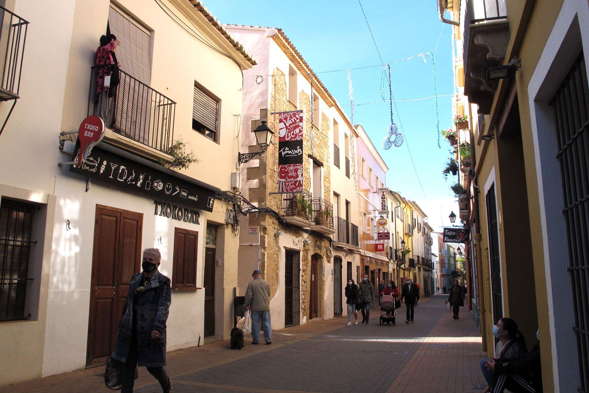 Restaurantes cerrados de la calle Loreto