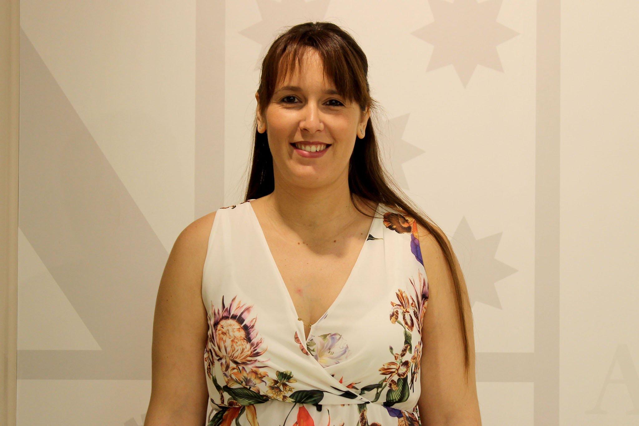 Sandra Gertrúdix, concejala de Comercio