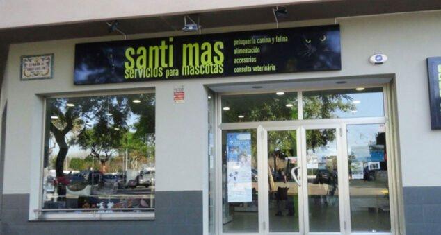 Imagen: Entrada de Santi Mas-Servicios para mascotas