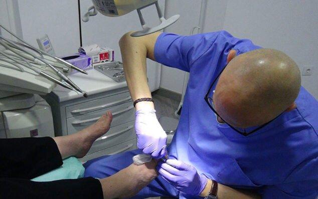 Imagen: Tratamientos en Clínica Podológica Estévez