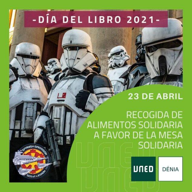 Imagen: 501st Legion-Spanish Garrison junto a UNED Dénia en la recogida de alimentos