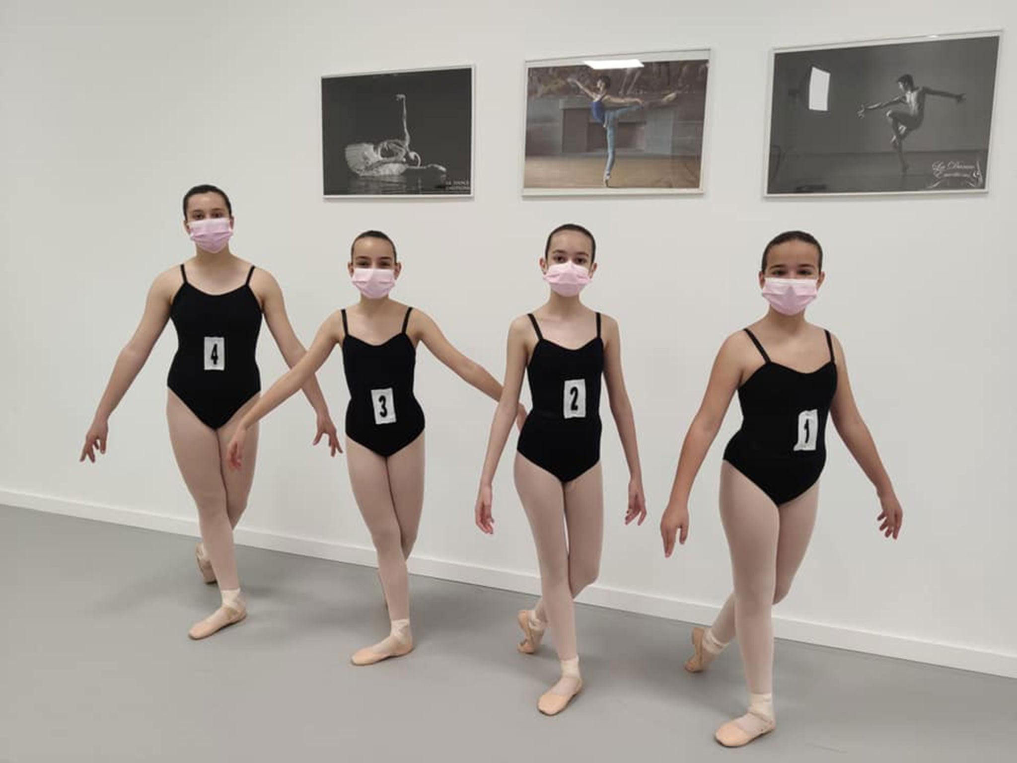Alumnas de Estudio de Danza Patricia Sentí