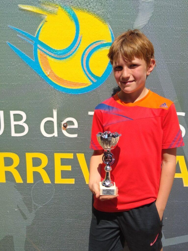 Austin Feltham campeón benjamín 2ª Fase Circuito Mediterraneo-1