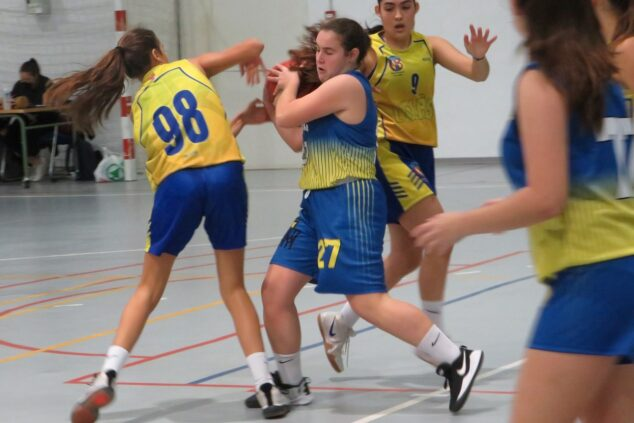 Imagen: Cadete femenino jugó en Terralfas