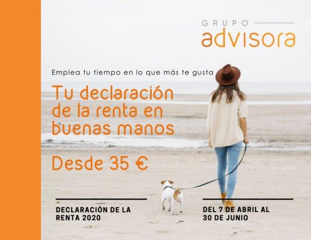 Imagen: Campaña Renta en Dénia - Grupo Advisora