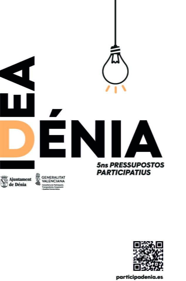 Imagen: Cartel presupuestos participativos