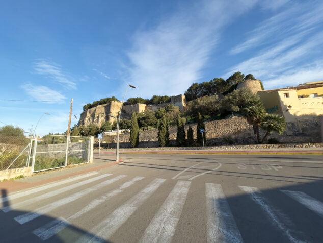 Imagen: Castillo desde ronda de les Muralles
