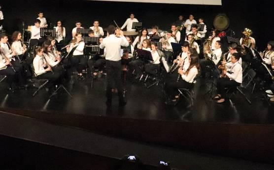 Imagen: Concierto de la Banda Juvenil de la Agrupación Artística Musical de Dénia