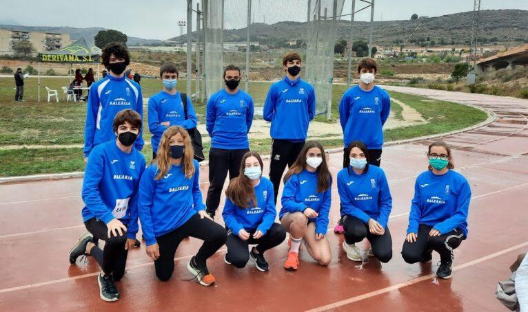 Deportistas de Dénia en la prueba de Elda