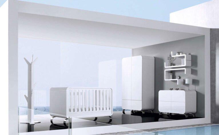 Dormitorio de bebé convertible - Alondra