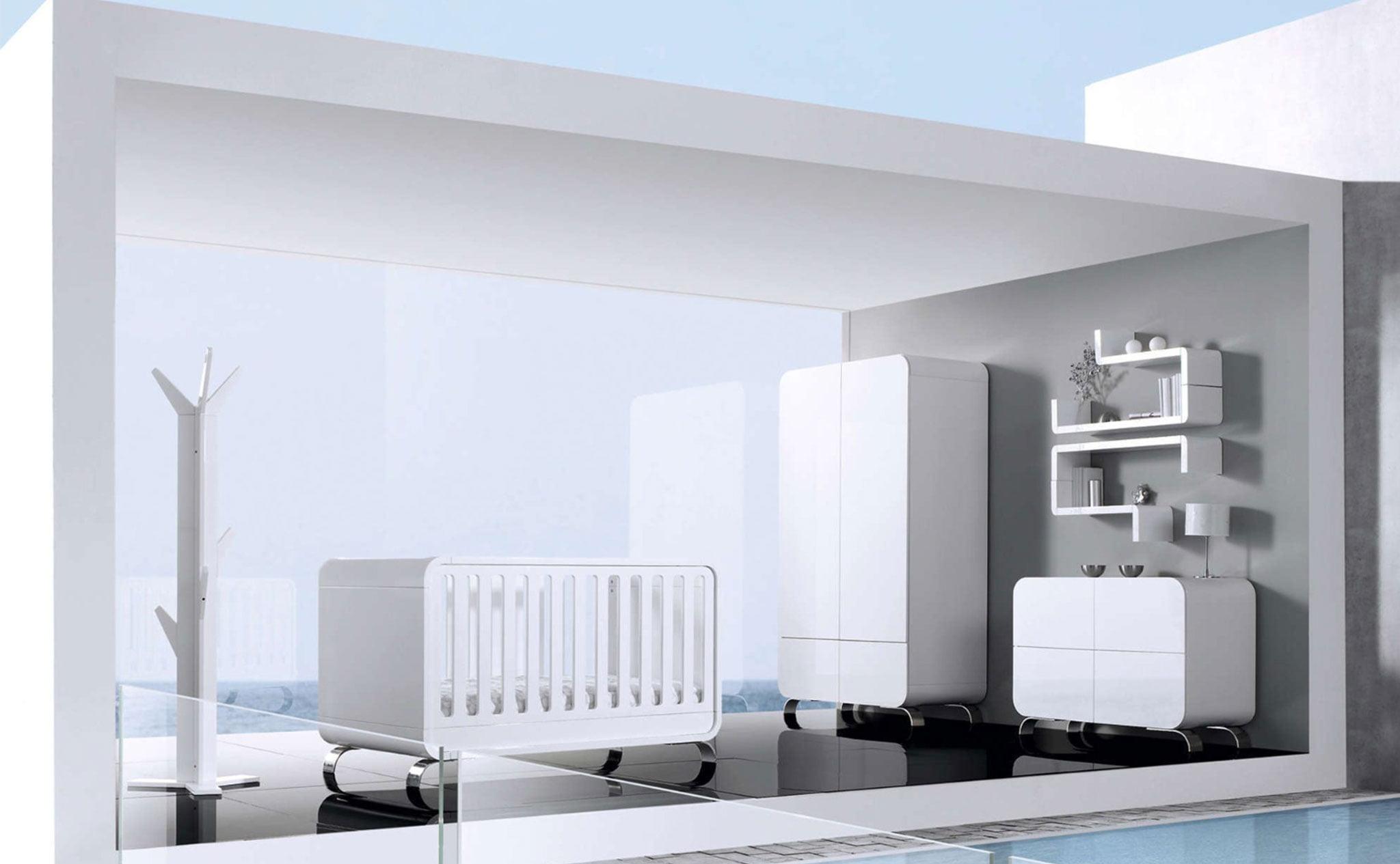 Dormitorio de bebé convertible – Alondra