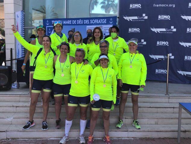Imagen: Equipo femenino del Club de Rem de Dénia