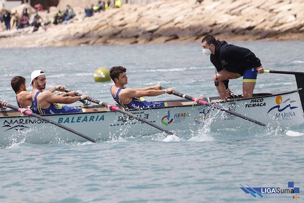 Imagen: Equipo masculino durante la competición