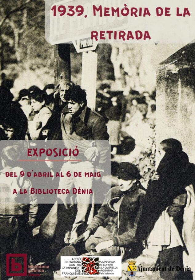 Imagen: Exposición %221939, memòria de la retirada%22