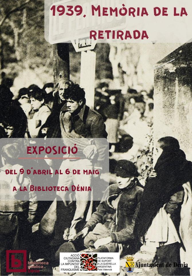 Exposición %221939, memòria de la retirada%22