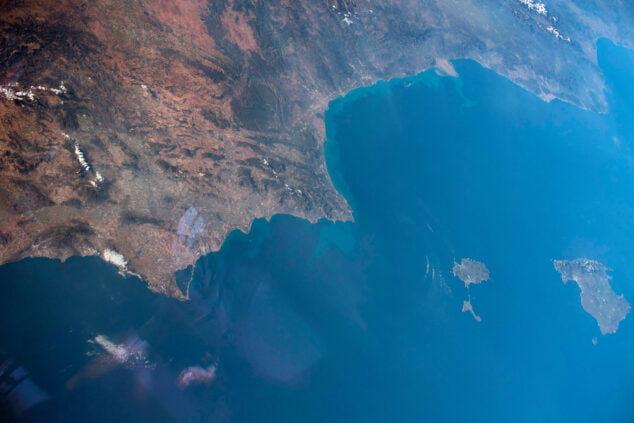 Imagen: Fotografía captada por astronautas de la NASA