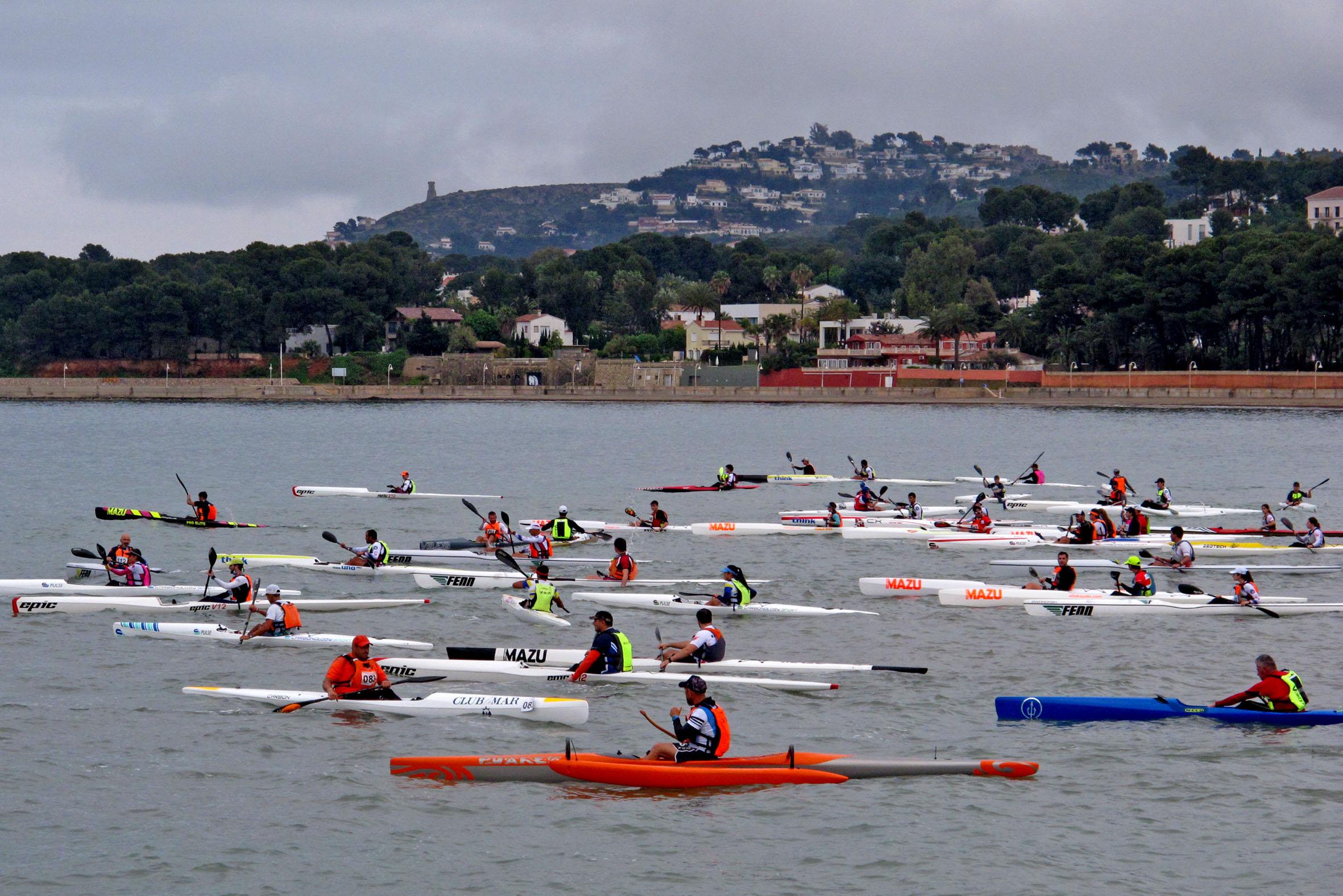 Copa de España de Kayak de Mar en Dénia