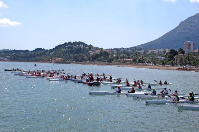 Imagen: Copa de España de Kayak de Mar en Dénia