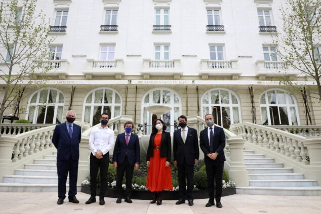 Imagen: Inauguración del Mandarin Oriental Ritz, Madrid dirigido por Quique Dacosta