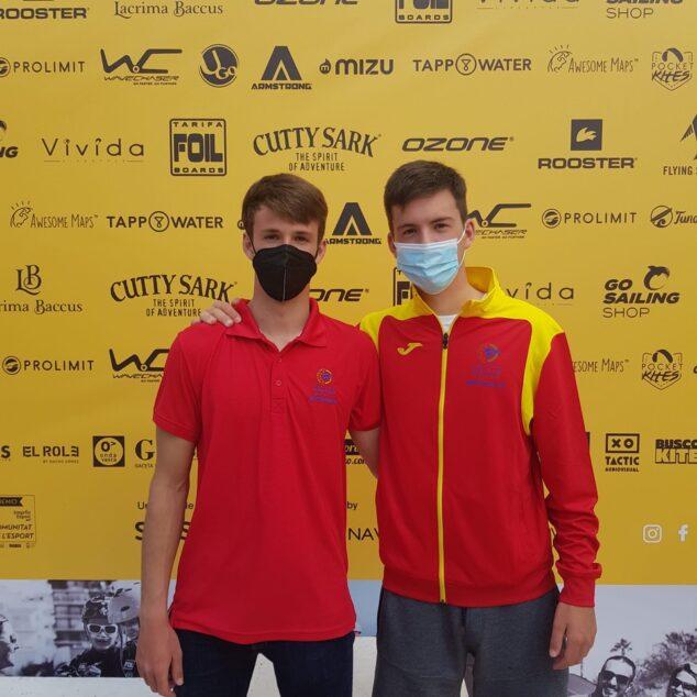 Imagen: Los deportistas, Kiko y Sebastián