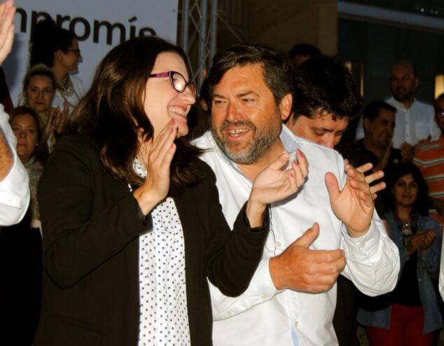 Imagen: Monica Oltra y Rafa Carrió