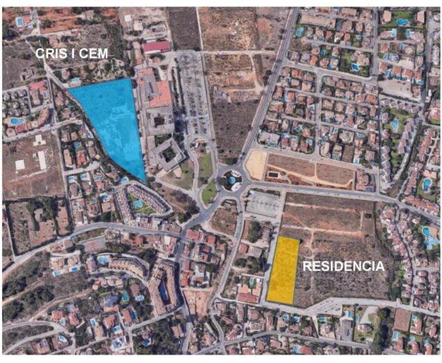 Imagen: Plano donde se ubicarán los centros