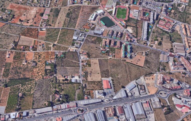 Zona conflictiva en partida Madrigueres Nord