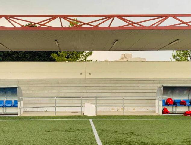 Imagen: Campo de fútbol del UD Portuarios